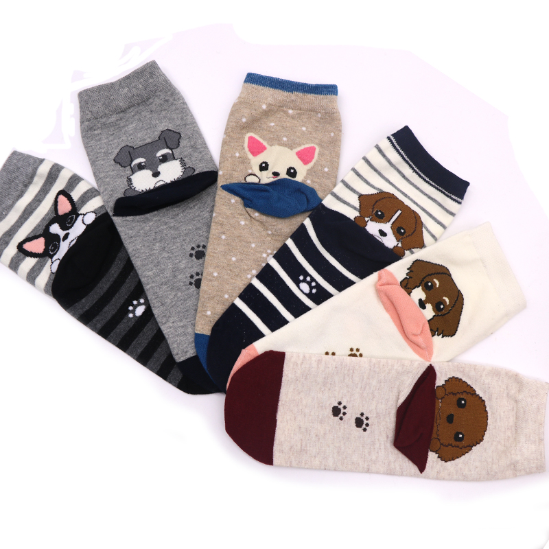 5Pair New 3D Printed Socks Short Men Novelty Socks Animal Funny Low Cut Ankle Socks Calcetines Hombre For Male Dress Sock New
