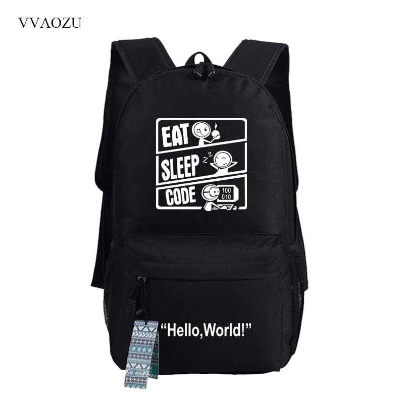 Drawstring Backpack Portable Travel Daypack Gym Bag Dinosaur Spaceship