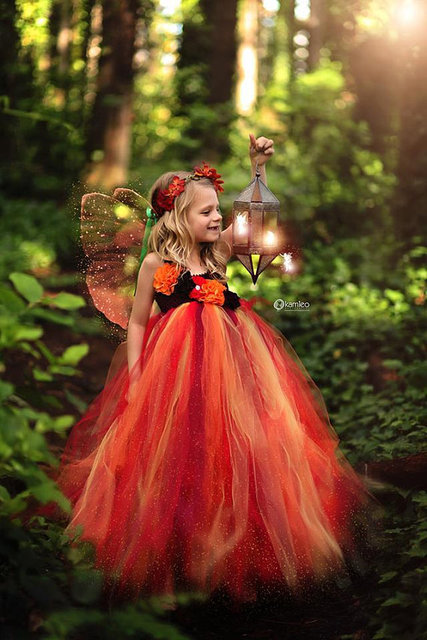 Cute Orange Fairy Tutu...