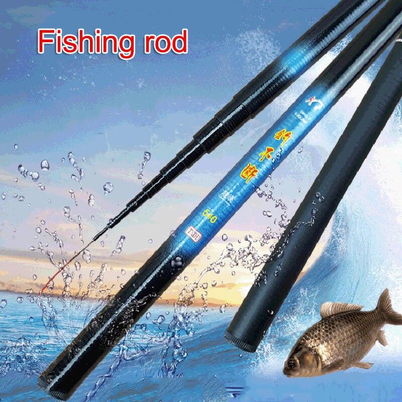 Резьба для рыбалки, телескопическая Сверхлегкая жесткая Удочка из пластика FRP для потоковой пресной воды BHD2|Удочки|   | АлиЭкспресс