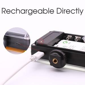 Image 3 - Ulanzi 96 LED Video Light แสงกล้องชาร์จไฟแฟลชสำหรับกล้อง DSLR Vlog การถ่ายภาพแต่งงาน Accessorie