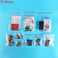Kit DIY SMD SMT Componentes electrónicos Bordo Práctica Principiante Kit Electrónico para Auto-Ensamblaje de Entrenamiento de Habilidades de Soldadura