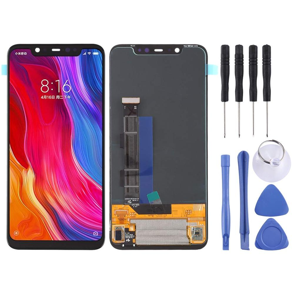 For <font><b>Xiaomi</b></font> <font><b>Mi</b></font> <font><b>8</b></font> <font><b>Display</b></font> Touch Screen with Frame Digitizer Assembly Replacement for <font><b>Xiaomi</b></font> <font><b>Mi</b></font> <font><b>8</b></font> LCD Screen Mi8 Repair Parts image