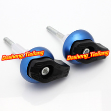 For Suzuki GSR600 2006 2010 Frame Sliders Crash Pads Protector Motorcycle Spare Parts Accessories Blue Color