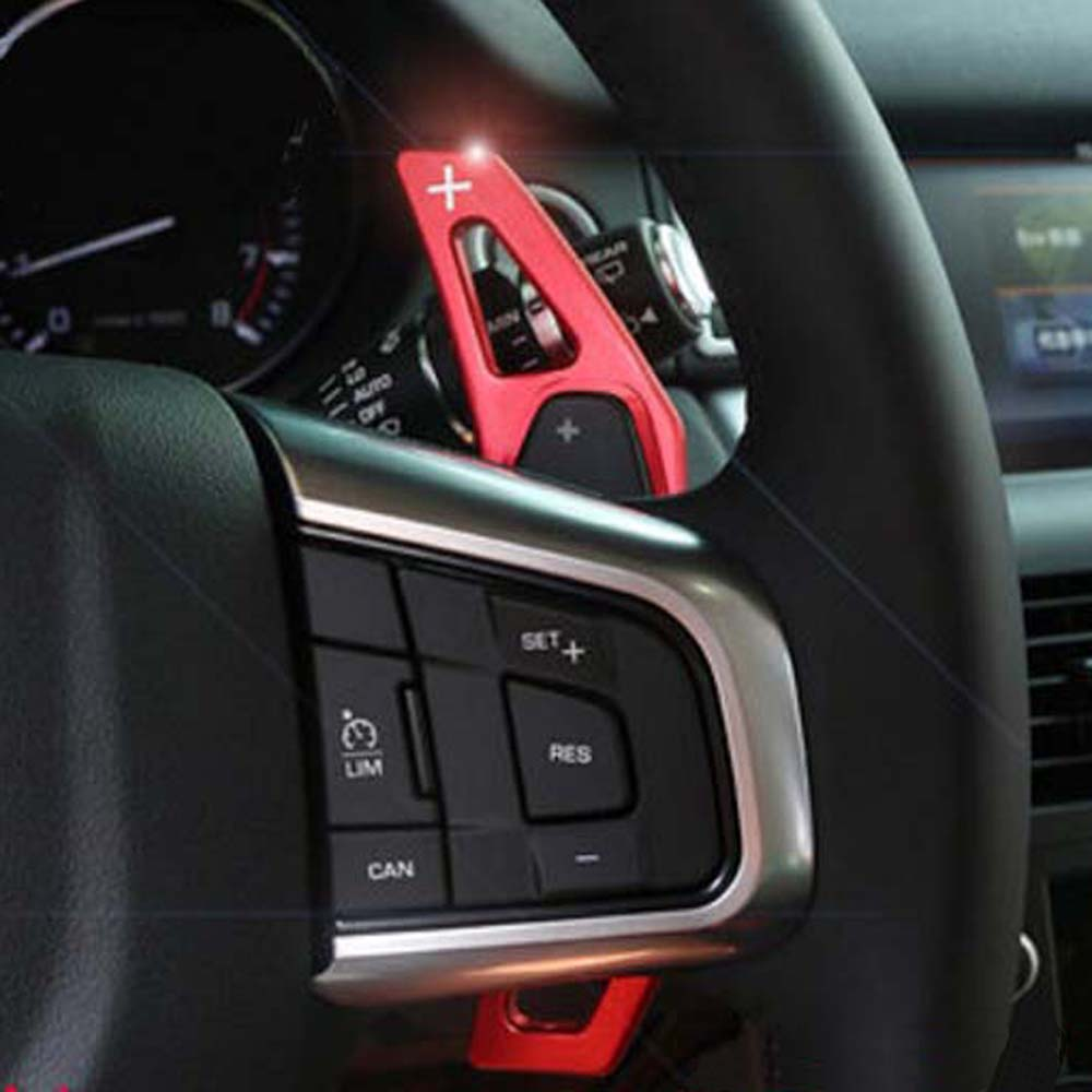 Range Rover Discovery Sport >> steering wheel gear shift paddles cover sticker for land ...