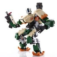 OW закаленные издание Bastion Нини DVA Reinhardt Вильгельм 21 см ПВХ деформируемого Танк фигурку Коллекционная модель игрушки