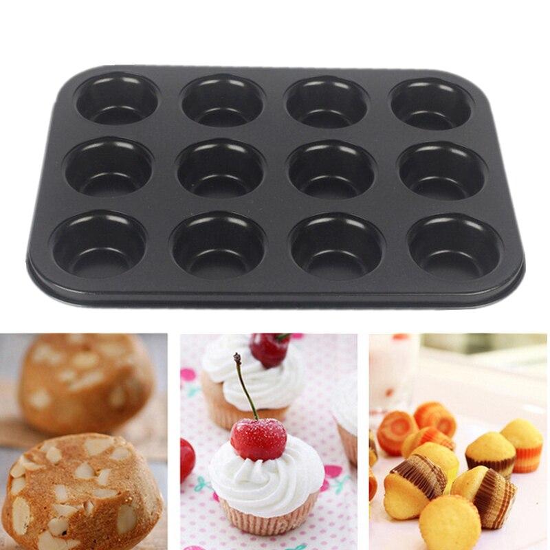 6 Tazze 12 Tazze Mini Cupcake Stampi Da Cucina Bakeware Piatto ...