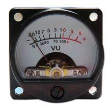 2pcs Panel VU Meter Warm Back Light Audio Level indicator For Speakers Amplifier
