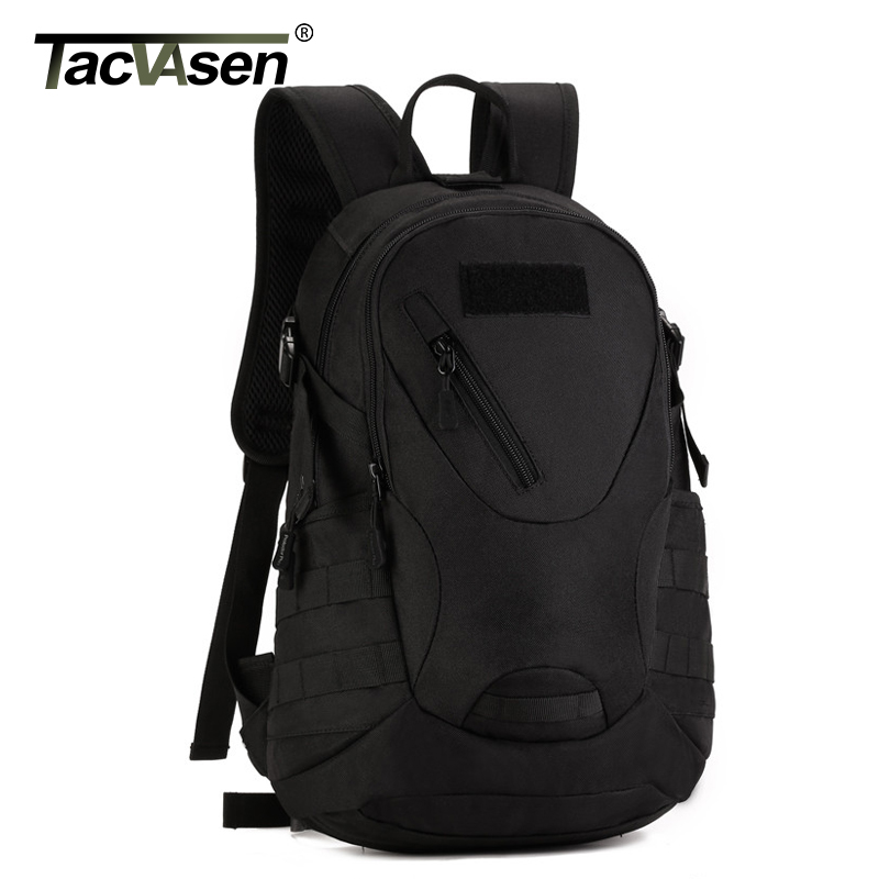 TACVASEN 20L Travel Backpack Men Waterproof Rucksacks Road Cycle Bags Laptop Knapsack Ride Military Backpack TD-SHZ-006 tacvasen 35l waterproof molle men backpack military 3p backpacks camouflage army travel bags school backpack td shz 009