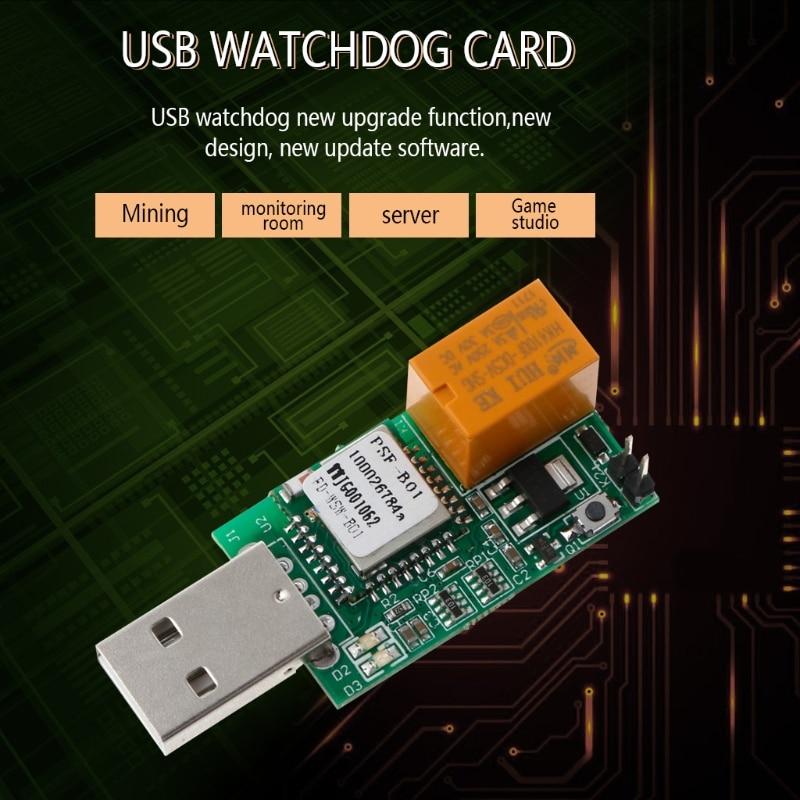 USB Watchdog WIFI APP Remote Control Restart Blue Screen Game Server BTC Miner ...