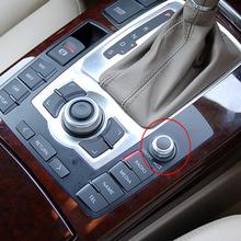 MMI Radio pokrętło głośności przycisk obrotowy przełącznik ustawienie CD dla Audi A6 C6 S6 Allroad 05-08 Q7 2007 2008 A8 S8 tanie tanio FEELWIND 4 9cm 3 5cm 4F0919070 Plastic Przycisk Przełącznika Volume Knob 0 05kg 2 7cm