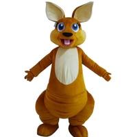 Hot Sale 2017 Adult Lovely Kangaroo Mascot Costume Custom Made Mascot Fancy Dress Costumes Animal Costume Party Costumes