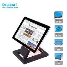 Full Motion Foldable 14-24 inch Touch Screen Stand Monitor Holder TV Mount Steel Base TSM-100(China)