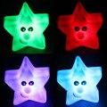 1 Peças Coloridas Estrelas Luz Da Noite Da Lâmpada Mudando Cores Clild Crianças Dormindo Novidade Light-up Toys