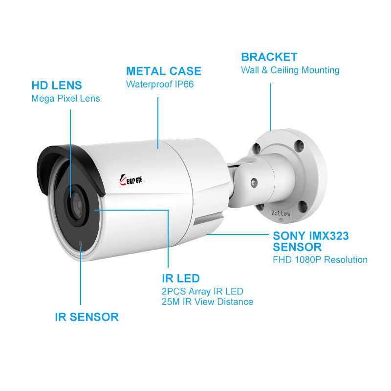 Keeper 1080P AHD caméra vidéo 2.0MP 2000TVL caméra de vidéosurveillance extérieure IR sécurité métal SONY capteur pour système de Surveillance analogique 4