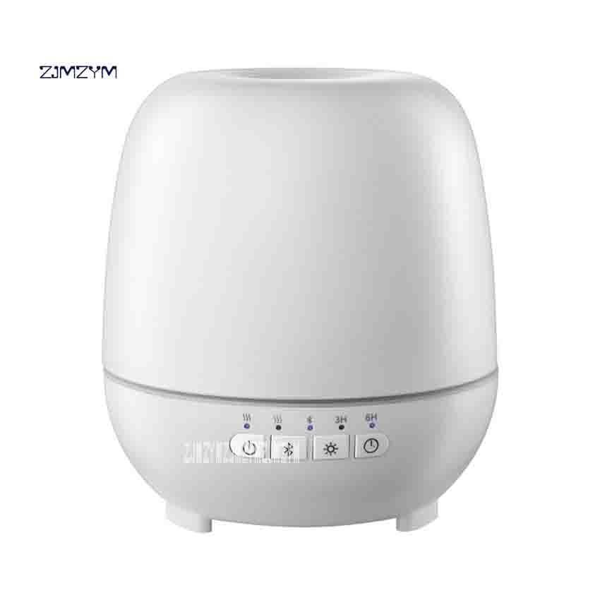 Новые Bluetooth музыка ультразвуковой ароматерапия машина увлажнитель Спальня Творческий дом ароматом огни 24 В 14 Вт 350 мл 6 часов синхронизации