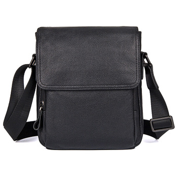 Men Travel Shoulder Black Bags Business Cow Leather Man Casual Brand Messenger Crossbody Designer Bag Male Real Leather Bags