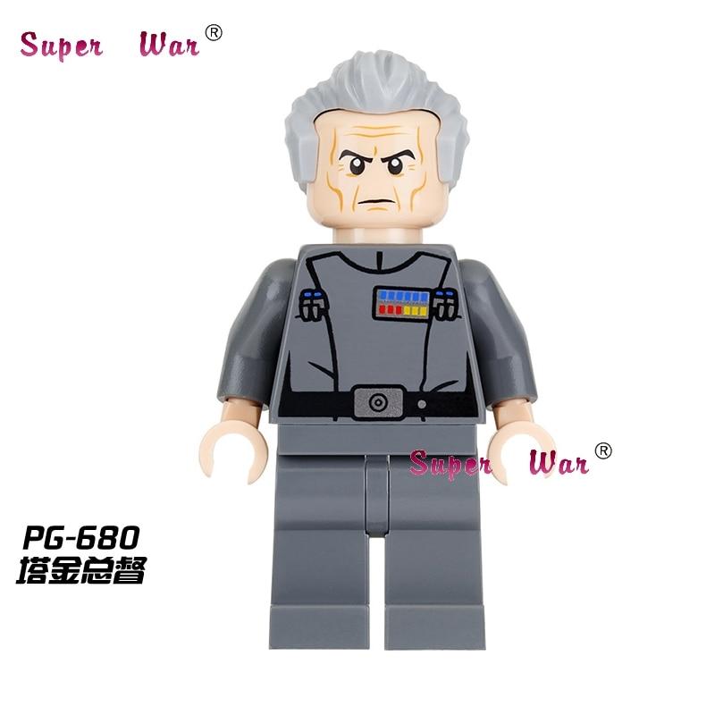 20pcs star wars superhero marvel Grand Moff Tarkin SW770 building blocks action figure bricks model educational diy baby toys