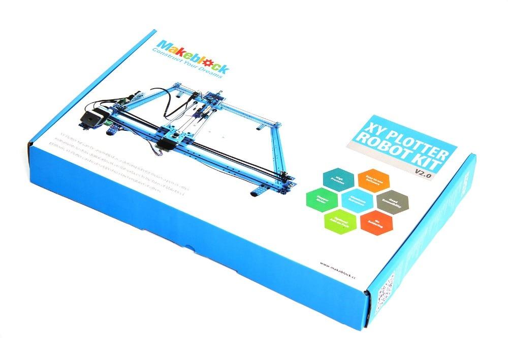 US $369 0 |2018 New Gift kids drawing toys Makeblock XY Plotter Robot Kit  V2 0 laser engraver graph plotter DIY Educational toys-in RC Cars from Toys