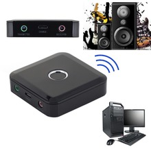 2 in 1 Wireless Bluetooth Transmitter Receiver Bluetooth 4.0 A2DP 3.5mm Stereo Audio Dongle Adapter for TV MP3 PC Speaker