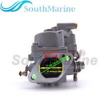 Outboard Engine 6AU-14301-40 6AU-14301-41 Carburetor Assy for Yamaha F9.9F T9.9G Boat Motor, Electric Start