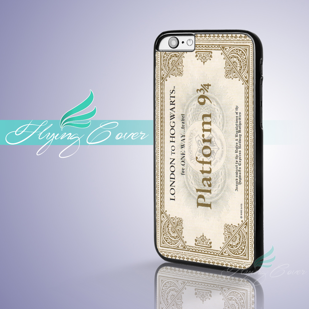 Coque Harry Potter Train Ticket Capa Phone Cases for iPhone X 8 8Plus 7 6 6S Plus SE 5S 5C 5 4S 4 Case for iPod Touch 6 5 Cover.