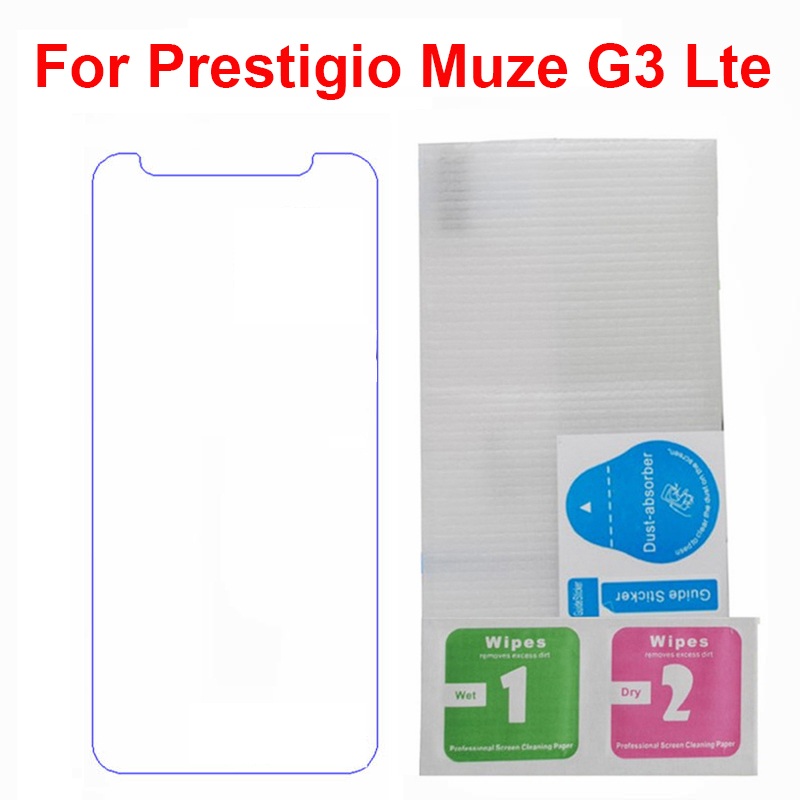 2PCS Screen Protector phone For <font><b>Prestigio</b></font> Muze G3 Lte <font><b>PSP3511</b></font> DUO phone Tempered Glass SmartPhone Film Protective Screen Cover image