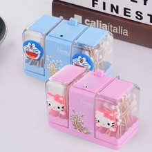 VKStory Life Bathroom Bedroom wardrobe Portable Pink Hello Kitty cute Storage Racks For Make Up Tools Earrings(China)