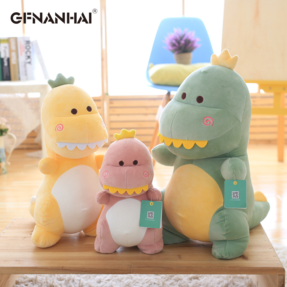 Cute Soft Dinosaur Plush Toys Kawaii Stuffed Animals Down Cotton Dinosaurs Plush Doll For Baby Children Birthday Gift 15/30/40