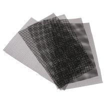 5 шт. цветочный горшок сеточный коврик нижний решетчатый коврик дренажная сетка для бонсай, 30x20 см