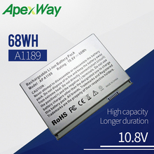 68WH Laptop battery for Apple MacBook Pro 17″ A1189 a1212 a1151 MA458 MA458*/A MA458G/A MA458J/A Series