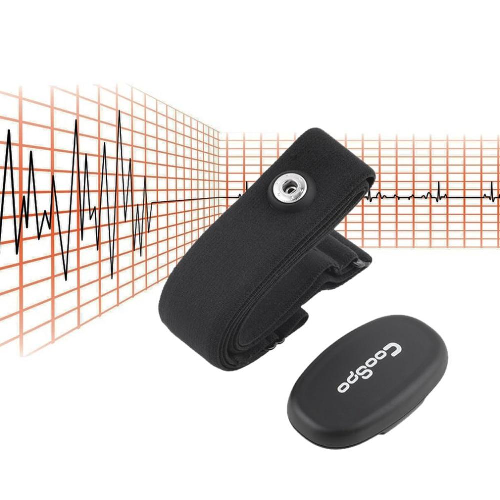 Bluetooth 4,0 LE inalámbrico Monitor de ritmo cardíaco de deporte correa para el pecho para iPhone 4S 5 5S 5C iPad waoo Fitness Fitcare