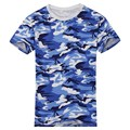 Casual Camouflage T-shirt Men Cotton Army Tactical Combat Military  Camo Camp Tee Shirt Homme New