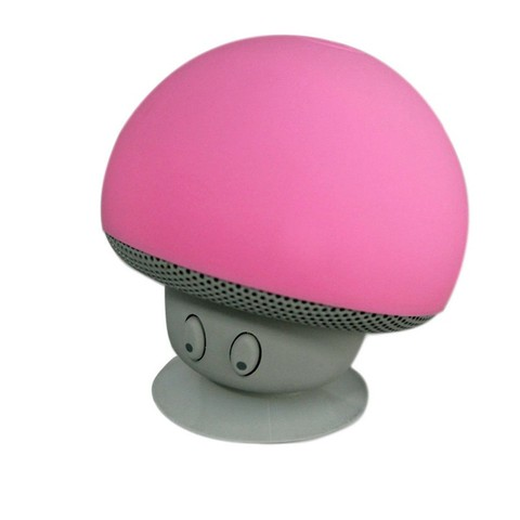 Wireless Bluetooth Mini Speaker Mushroom Waterproof Silicon Suction Cup Handfree Holder Music Player for Iphone Smart phone Lahore