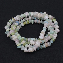 6-9mm chip shape Morgan stone beads natural stone beads DIY loose beads for jewelry making strand 34 inches  wholesale !