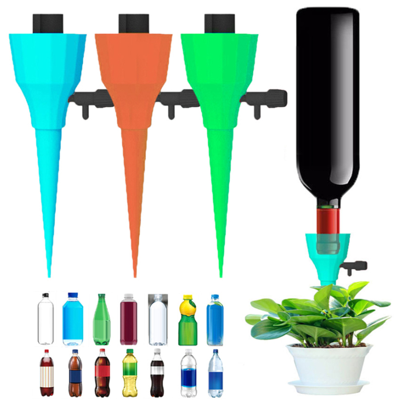15pcs Automatic Irrigation System Irrigation Drip Nozzle Set Garden Flower Household Drinking Fountain Bottle Drip Watering Tool
