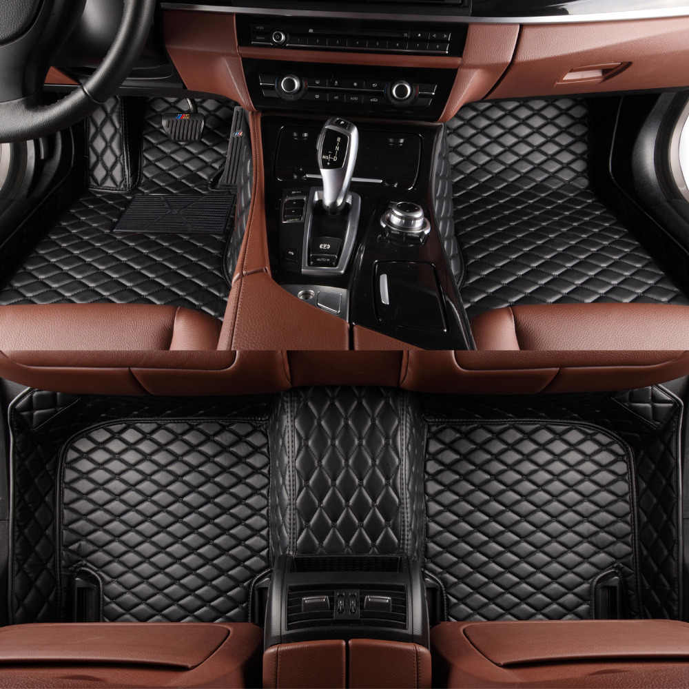 Auto vloermatten voor Toyota Land Cruiser Prado 150 120 Corolla 5D all weather auto styling tapijt floor liners (2002-)