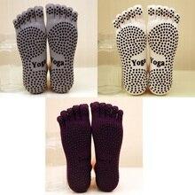 3 Pairs/Lot Winter Men Yoga Socks Dancing Gym Anti-slip Standard Cotton Socks Breathable Deodorant for Balet Pilates Sports