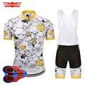 Crossrider 2020 Herren Cartoon Radfahren Kleidung MTB uniform Bike Jersey Fahrrad Kleidung Kurze 9D Set Ropa Ciclismo Maillot Culotte-in Fahrrad-Sets aus Sport und Unterhaltung bei