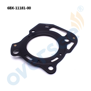 Image 2 - 6BX 11181 00 GASKET, CYLINDER HEAD 1 For Yamaha Outboard Engine 4HP 6HP