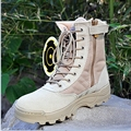 2017 Men Military Boots special forces tactical desert combat boots outdoor climbing shoes Infantry special boots B160