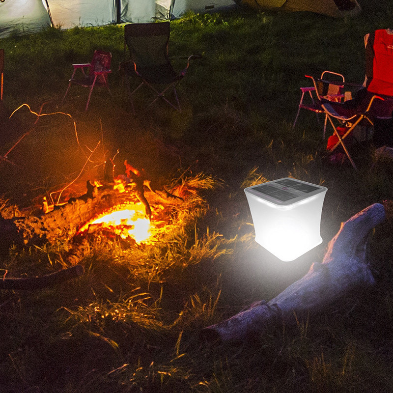 Lâmpadas Solares lanterna inflável ao ar livre Product Item : Foldable Solar Light