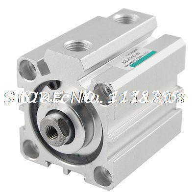 32mm Bore 25mm Stroke Double Action Pneumatic Actuator Air Cylinder motorcycle accessories 650tr left front fender