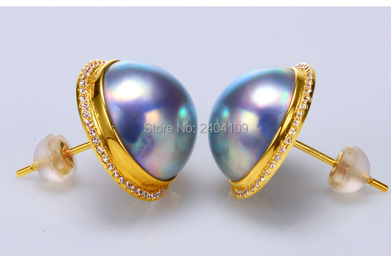 big pearl earrings 44