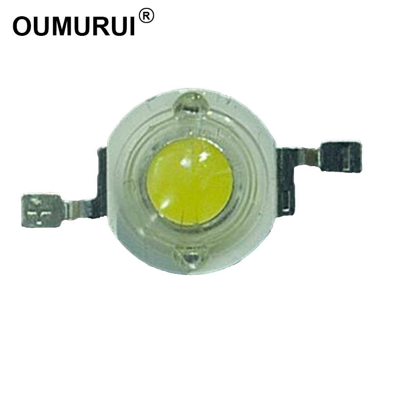 1W LED chips High power LED bead Lamp White warm 6000k 3000k 300mA 3 2 3