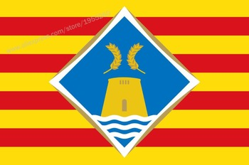 Flag of Formentera Balearic Islands 3 x 5 FT 90 x 150 cm Spain Flags Banners image