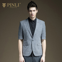Men Blazer Acetate Real Masculino Pinli Products In The Summer Of 2017 New Men's Suits Sleeves Of Casual Suit Jacket B172206171