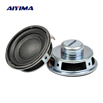 AIYIMA 2Pcs Mini Audio Portable Speakers Altavoz 4 Ohm 3W Tweeter Treble DIY Music Bluetooth Speaker Home Theater Sound System image