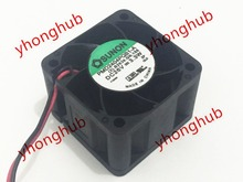 Free Shipping For SUNON PMD2404PQB1-A (2).B2639.GN.15S DC 26V 3.3W 2-wire 2-pin connector 40x40x28mm Server Square Cooling Fan free shipping for delta afb0624eh ab dc 24v 0 36a 3 wire 3 pin connector 60mm 60x60x25mm server square cooling fan