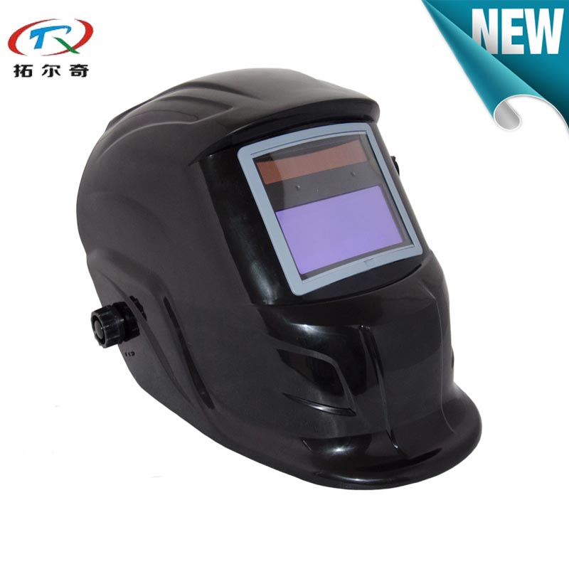 Tools : Portable automatic dimming welding helmet for welding machine solar shading 9-13 adjustable QS01 with 2233de